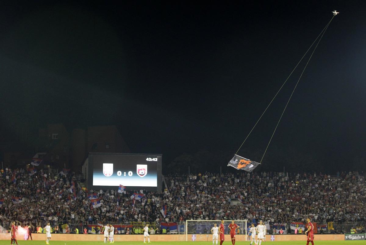 Serbia vs Albania Euro Qualifier: Shadowed by Past and DJI Phantom Drone