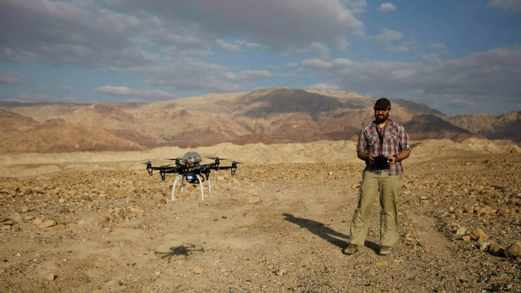 Drones to Protect Archeological Sites in Jordan