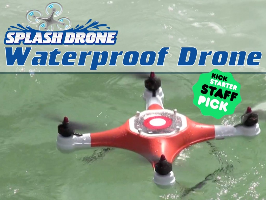 Splash Drone: The Waterproof Drone Everybody Wants to Own