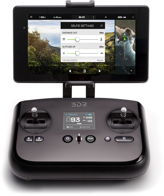 3D Robotics Controller GoPro Camera Settings