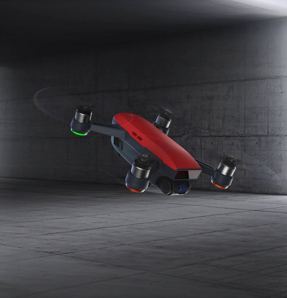 DJI Spark: Specs, Features and Characteristics